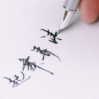 Pimio毕加索美工弯头弯尖钢笔916成人学生用练字书法笔礼盒装刻字