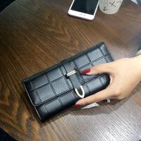 新款欧美2018新款女士钱包女长款时尚大容量手机潮钱夹女皮夹手拿