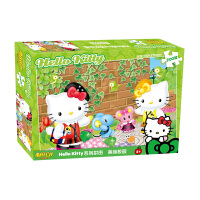 HelloKitty凯蒂猫拼图 凯蒂猫美丽校园盒装拼图200片儿童拼图益智玩具KP04-200-62圣诞礼品