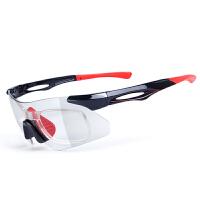 户外运动跑步眼镜自行山地车近视眼镜变色骑行眼镜男女