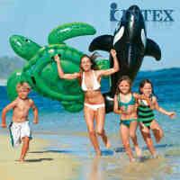 INTEX海龟座骑56524 充气座骑 水上用品 浮圈 儿童坐骑