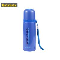 巴拉巴拉儿童水杯吸管杯学生防漏耐热便携饮水杯子外出水壶保温杯