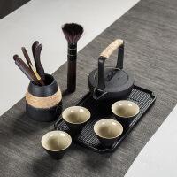 【家装节 夏季狂欢】茶具套装小套家用功夫陶瓷茶壶茶杯小茶台简约现代客厅办公室 茶道