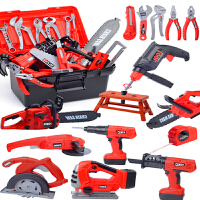 儿童电动工具箱玩具套装男孩仿真维修电锯宝宝修理螺丝刀过家家