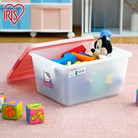 爱丽思IRIS HELLO KITTY环保塑料整理箱衣物玩具收纳箱KCB-25