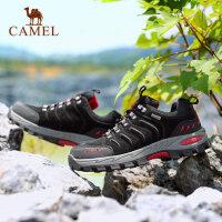 camel骆驼户外登山鞋男女 防滑减震鞋耐磨低帮徒步鞋