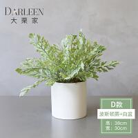 20190815054120409北欧简约假花客厅盆栽植物 仿真绿植装饰 室内植物小摆件