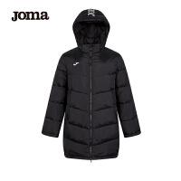 【年��大促】JOMA荷�R男士冬季中�L款棉服加厚保暖��松�B帽棉衣外套