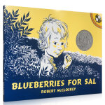 Blueberries for Sal 小赛尔采蓝莓 汪培�E推荐第二阶段英文原版绘本 美国top 100本必读 凯迪克