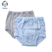 美国直邮 嘉宝婴幼儿训练裤2件 小熊图案 包邮包税