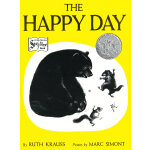 The Happy Day [Paperback]快乐的一天(凯迪克银奖,平装) ISBN9780064431910