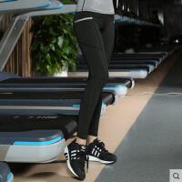 新款女士瑜伽健身跳操运动裤子 收口小脚运动高弹力训练长裤