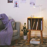 20190814155844470木邻/云端杂志柜 实木小书柜简约日式儿童家具储物柜北欧杂志柜