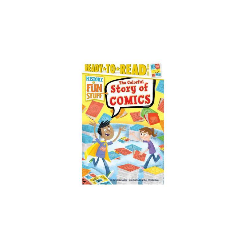 【预订】The Colorful Story of Comics 预订商品,需要1-3个月发货,非质量问题不接受退换货。