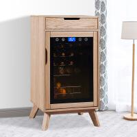 红酒柜现代简约家用 北欧简欧恒温酒柜 小型冷藏柜
