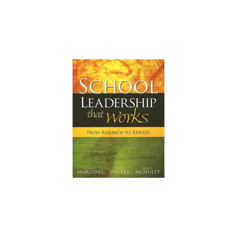 【预订】School Leadership That Works: From Research to Results 预订商品,需要1-3个月发货,非质量问题不接受退换货。