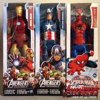 漫威美国队长钢铁侠6英寸永恒系列玩具公仔 儿童礼物