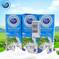 【包邮】子母奶 纯牛奶 纯牧纯牛奶 200ML*30支 整箱装 盒装 比利时原装进口 营养饮料乳制品