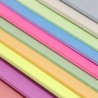 10张混色 16k 约32*22cm吹塑板 手工绘画板 版画绘画材料 16K塑料板 吹塑纸 手工纸