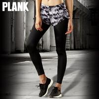 比瘦PLANK假两件运动九分裤女弹力跑步瑜伽美体紧身健身裤秋冬新品 PK030