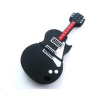(鑫龙办公)足量 正品 小提琴u盘 创意卡通吉他U盘8g 礼品u盘
