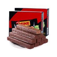 印尼进口 丽芝士richeese威化饼纳宝帝我的榛子味威化巧克力240g 榛子味*2盒
