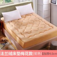 加厚珊瑚绒床垫 榻榻米单人双人床褥子学生宿舍垫被床褥