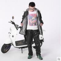 男女分体雨衣雨裤套装摩托车电动车 雨衣男女分体雨衣雨裤套装 双层加厚户外防风