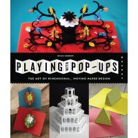 英文原版 立体书的艺术 作品赏析+DIY项目 Playing with Pop-Ups: The Art of Dime