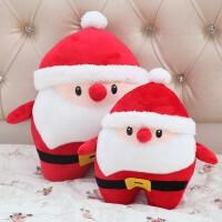 可爱圣诞老人公仔暖手抱枕捂手枕毛绒玩具送女生布娃娃玩偶女孩萌