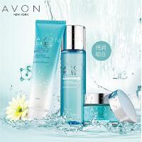 Avon/雅芳 滢泽高保湿系列组合套装(洁面乳 柔肤水倍润型 面霜倍润型)