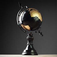 欧式地球仪摆件客厅玄关电视柜酒柜摆设创意书房美式家居软装饰品