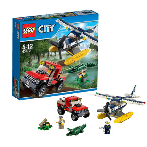[当当自营]LEGO 乐高 CITY城市系列 水上飞机追击 积木拼插儿童益智玩具 60070