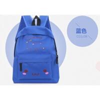 书包小学生双肩包1-3年级6-12岁高年级儿童休闲旅行定制补习包袋 蓝色 好看
