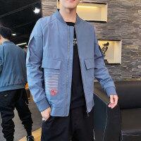 Makino/犸凯奴 秋冬新款男款运动立领夹克潮流青年棒球领时尚休闲夹克男士外套