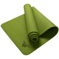 [当当自营]皮尔瑜伽TPE6mm防滑单色瑜伽垫绿色 附带背包