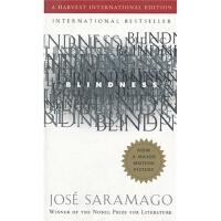 盲流感 英文原版 Blindness Jose Saramago Harcourt Children's Books
