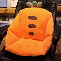 君别靠垫坐垫一体办公室老板椅子屁垫子靠背靠枕护腰加厚学生电脑椅垫 防滑版-宽60*长40*高40cm