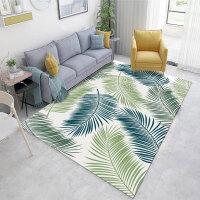 地毯 客厅茶几北欧几何地毯现代简约几何图案3D印花可水洗可机洗卧室地垫