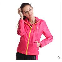 防风上衣防水薄风衣 运动外套 女休闲运动夹克