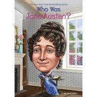 【现货】英文原版 Who Was Jane Austen? 简・奥斯汀是谁? 中小学生读物 Who Was/Is?系列
