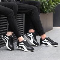 运动鞋男鞋女鞋情侣休闲鞋时尚韩版潮鞋飞线网面学生阿甘鞋