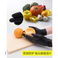 一次性防水防滑工作女胶手套加厚耐磨皮防油耐油劳保防腐蚀耐酸碱