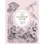 【预订】The Flower Year A Coloring Book