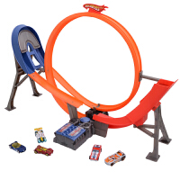 [当当自营]Hotwheels 风火轮电动回旋特技赛道 儿童塑胶轨道玩具 Y3105