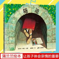 隧道绘本 精装小学生儿童绘本0-3岁获奖 安徒生大奖 安东尼布朗作作品蒲蒲兰绘本馆图画书系列少幼儿童亲子情商故事4至8岁