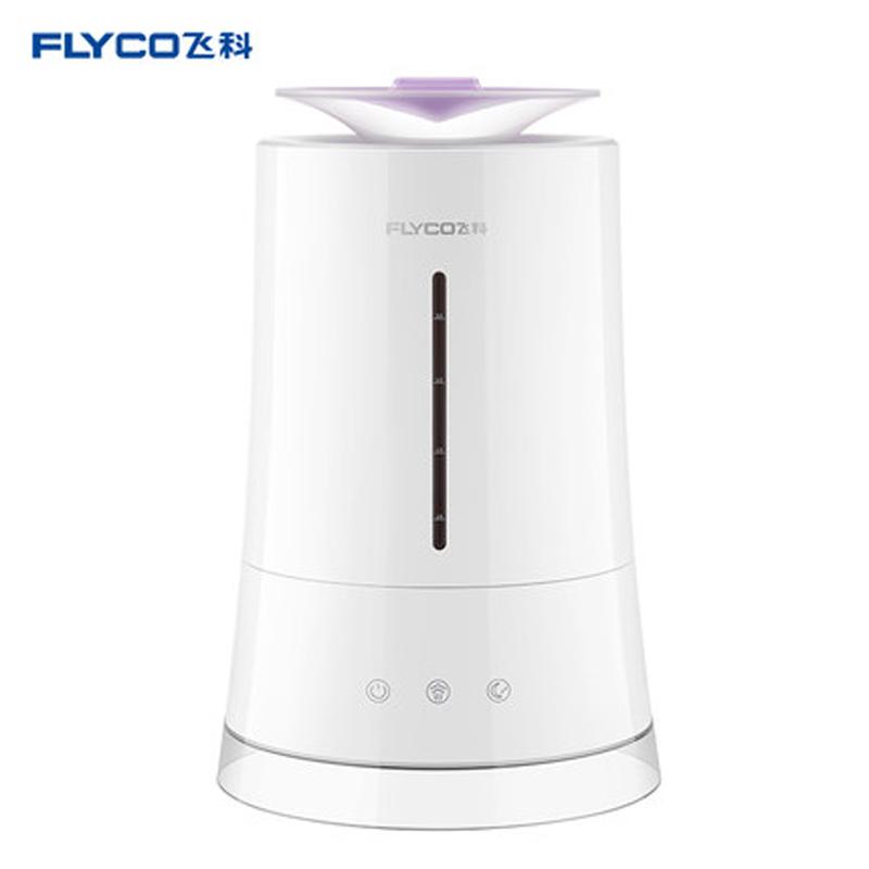 飞科(FLYCO)空气加湿器 FH9225 家用静音4升大容量卧室办公室空调空气净化雾化加湿器 三档雾量 双重过滤系统 4L可视水箱