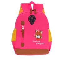 新款幼儿园3-7岁男女儿童书包定制logo印字超轻休闲补习背包