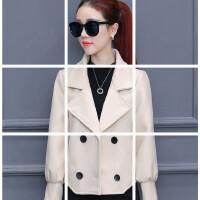 毛呢大衣女短款秋冬新款时尚百搭矮个子修身显瘦呢子小外套女