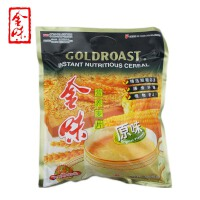 新加坡味驰集团 金味麦片(原味)600g 袋装 营养燕麦片早餐 即食冲饮 冲调麦片
